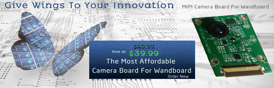 MIPI Camera Board For Wandboard Reduced Price